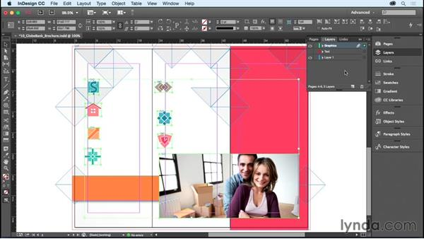 Creating and controlling layers: InDesign CC Essential Training (2015)