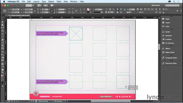 Duplicating objects: InDesign CC Essential Training (2015)