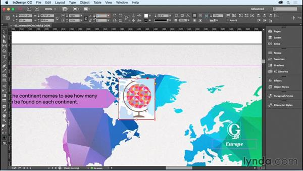 Rotating objects: InDesign CC Essential Training (2015)