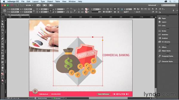 Scaling objects: InDesign CC Essential Training (2015)