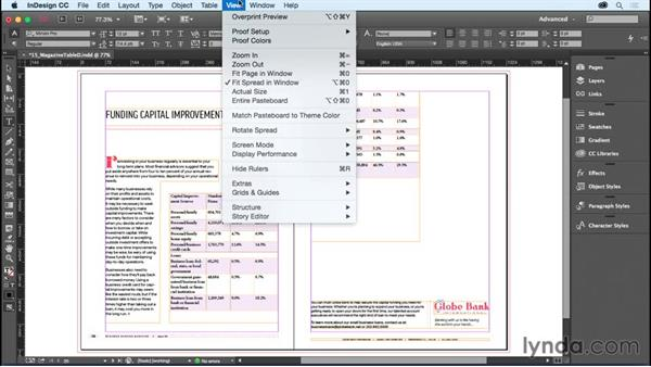 Formatting a table: InDesign CC Essential Training (2015)