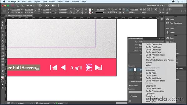 Creating an interactive PDF: InDesign CC Essential Training (2015)