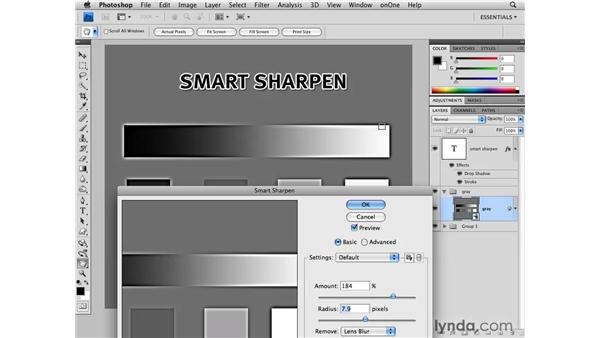 Smart Sharpen demystified: Photoshop CS4 for Photographers
