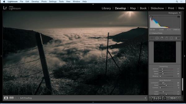 Fine-tuning your image : Black and White with Lightroom and Photoshop