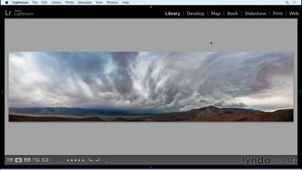 Panorama: Black and White with Lightroom and Photoshop