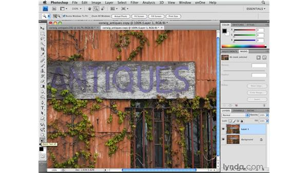 Resizing for email and the web: Photoshop CS4 for Photographers