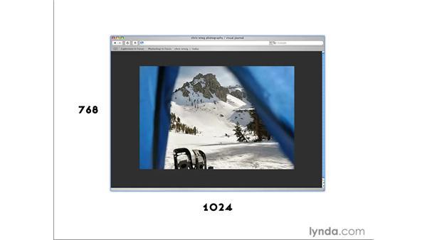 Image size considerations: Photoshop CS4 for Photographers