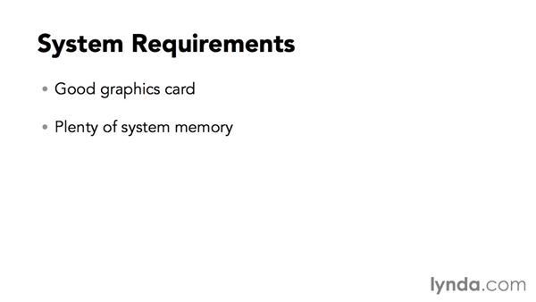 System requirements: Maya 2016 Essential Training