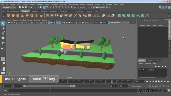 Configuring viewports: Maya 2016 Essential Training