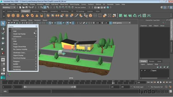 Customizing the interface: Maya 2016 Essential Training