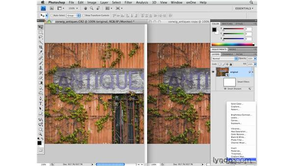Correcting color for the web: Photoshop CS4 for Photographers