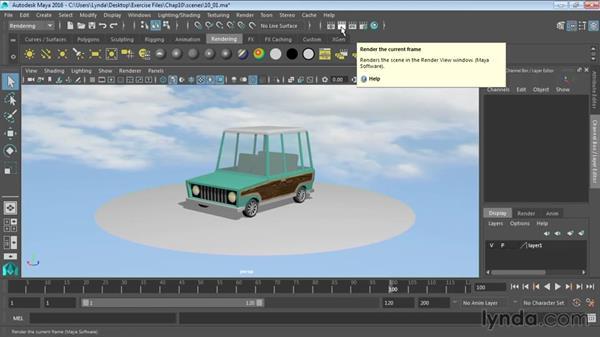 Overview of Maya rendering: Maya 2016 Essential Training