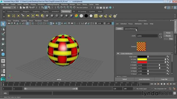 Creating and applying maps: Maya 2016 Essential Training