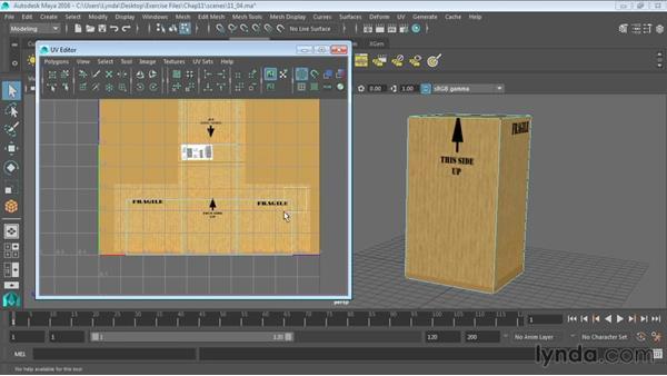 Understanding the UV Editor: Maya 2016 Essential Training