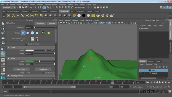 3D painting: Maya 2016 Essential Training
