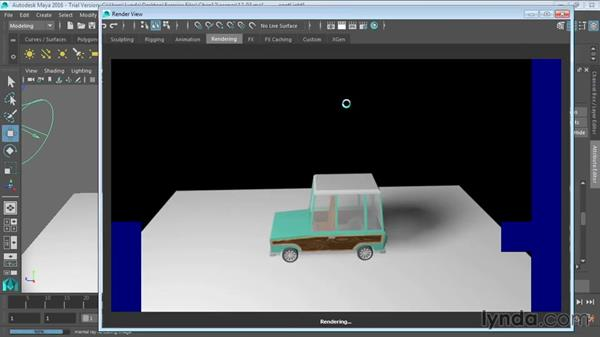 Creating shadows: Maya 2016 Essential Training