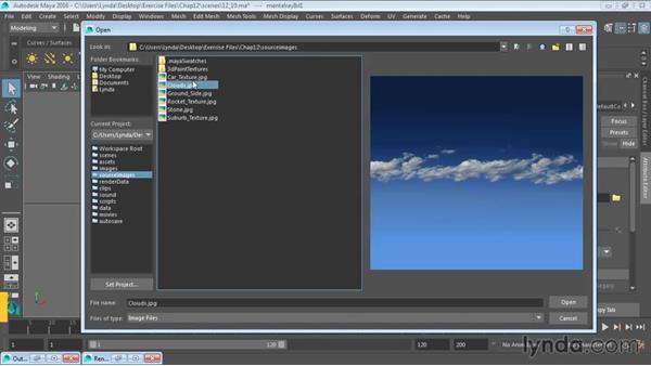 Creating image-based lighting: Maya 2016 Essential Training