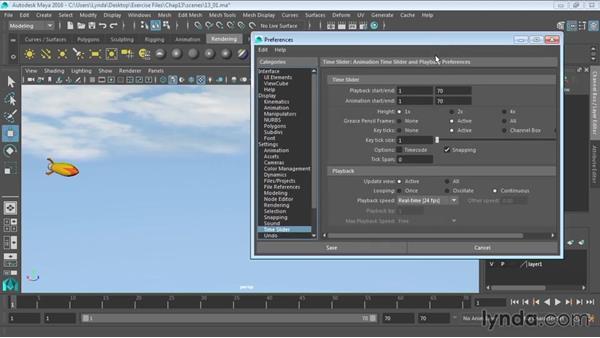 Understanding the animation interface: Maya 2016 Essential Training