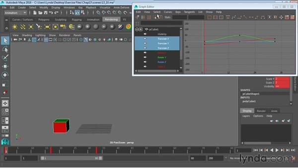 Creating animation cycles: Maya 2016 Essential Training