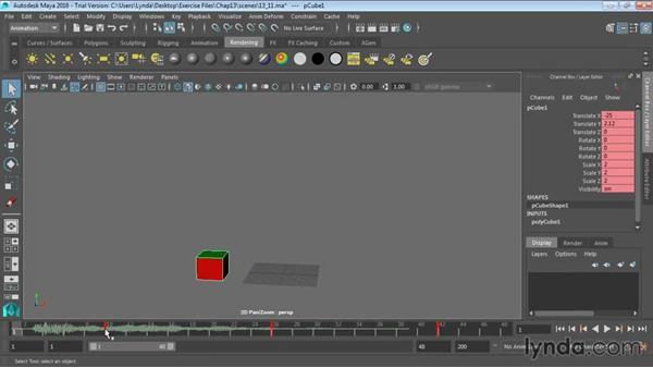Adding sound to animations: Maya 2016 Essential Training
