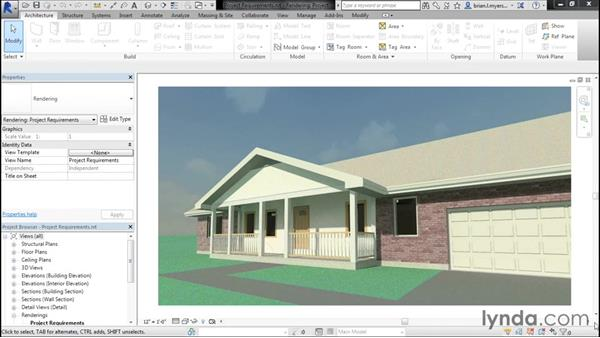 Reviewing the project requirements: Designing Home Plans with Revit