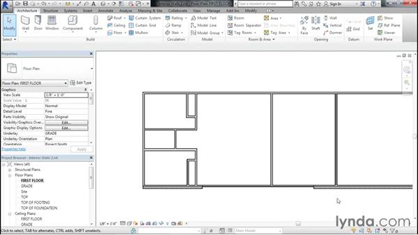 Creating a living area: Designing Home Plans with Revit