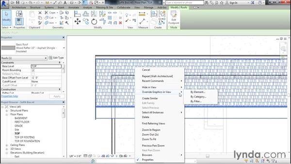 Framing in the soffit: Designing Home Plans with Revit