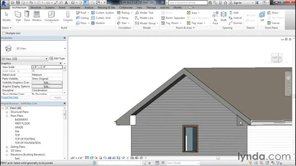 Cleaning up the soffit: Designing Home Plans with Revit