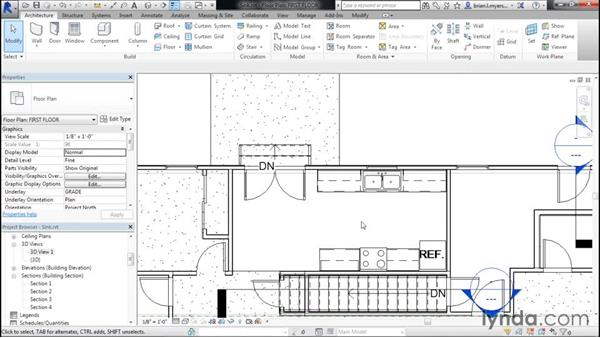 Placing a sink: Designing Home Plans with Revit