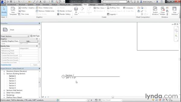 Setting up standard sheets: Designing Home Plans with Revit