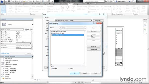 Printing: Designing Home Plans with Revit