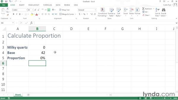 Finding target values using Goal Seek: Solving Optimization and Scheduling Problems in Excel