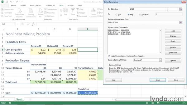 Changing parameters by hand: Solving Optimization and Scheduling Problems in Excel