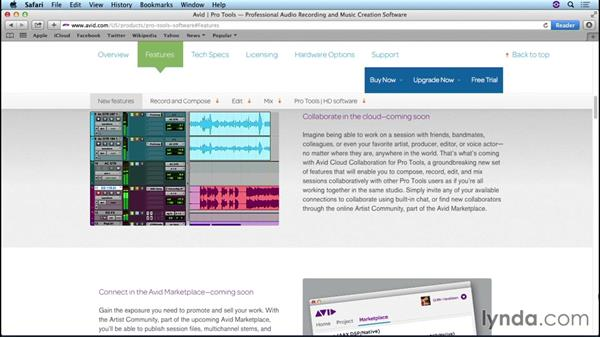 Setting the stage for Pro Tools cloud collaboration: Up and Running with Pro Tools