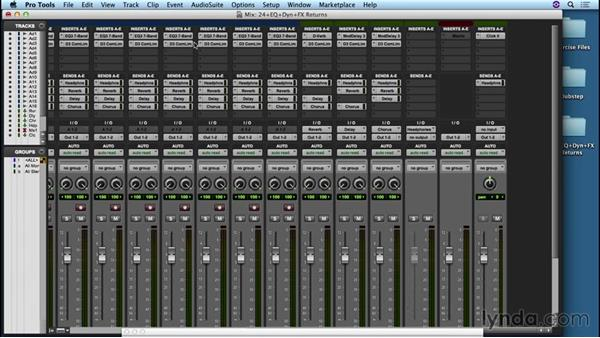 Working with templates: Up and Running with Pro Tools