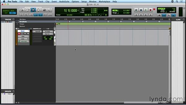 Creating a drumbeat using Xpand!2