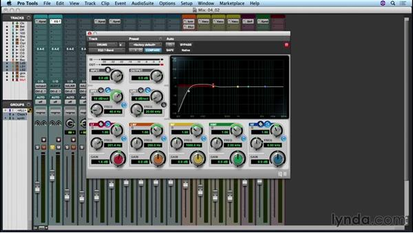 Adding EQ to the mix: Up and Running with Pro Tools