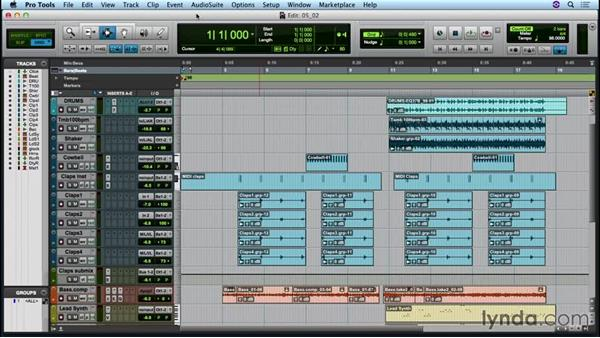 Saving and collecting your Pro Tools session: Up and Running with Pro Tools