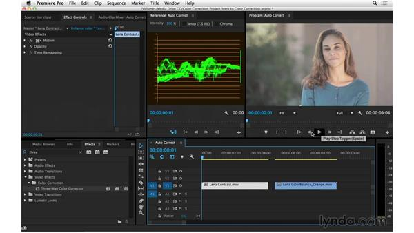Using automatic color correction strategies: Introduction to Video Color Correction