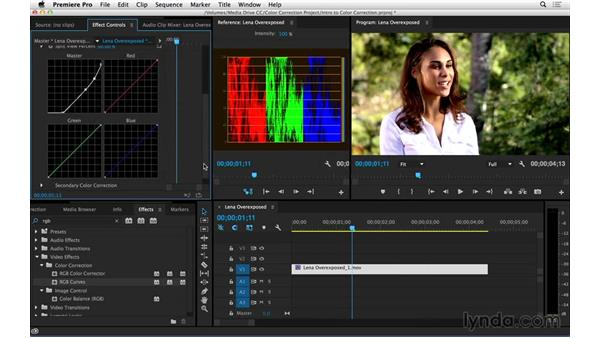 Correcting overexposed video: Introduction to Video Color Correction