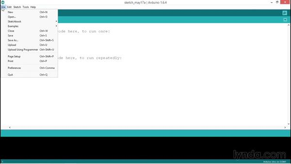 Exploring the IDE: Up and Running with Arduino