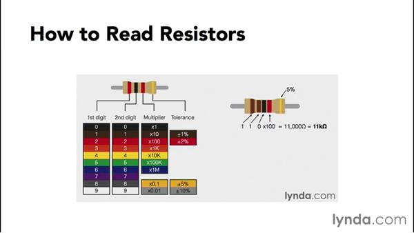 Reading resistors: Up and Running with Arduino