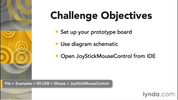Challenge: Joystick mouse: Up and Running with Arduino