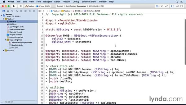 Creating an Objective C interface for SQLite: iOS SDK and SQLite: Building Data-Driven Apps