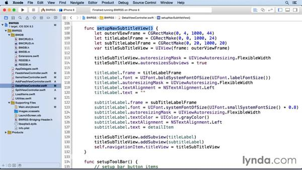 Creating a WKWebView: iOS SDK and SQLite: Building Data-Driven Apps
