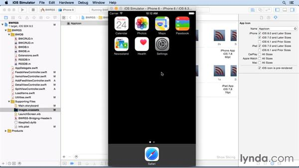 Preparing icons: iOS SDK and SQLite: Building Data-Driven Apps