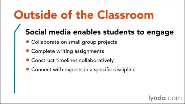Looking at social media outside the classroom: Social Media in the Classroom