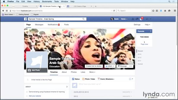 Using ReadWriteThink or Facebook to construct timelines: Social Media in the Classroom