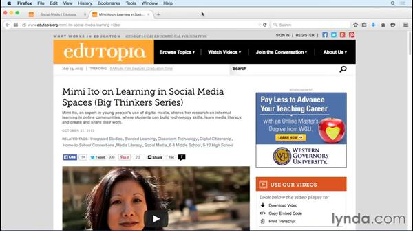 Next steps: Social Media in the Classroom
