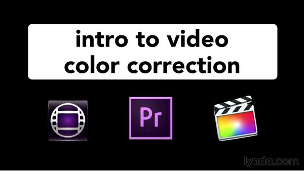 Which software does this course use?: Introduction to Video Color Correction